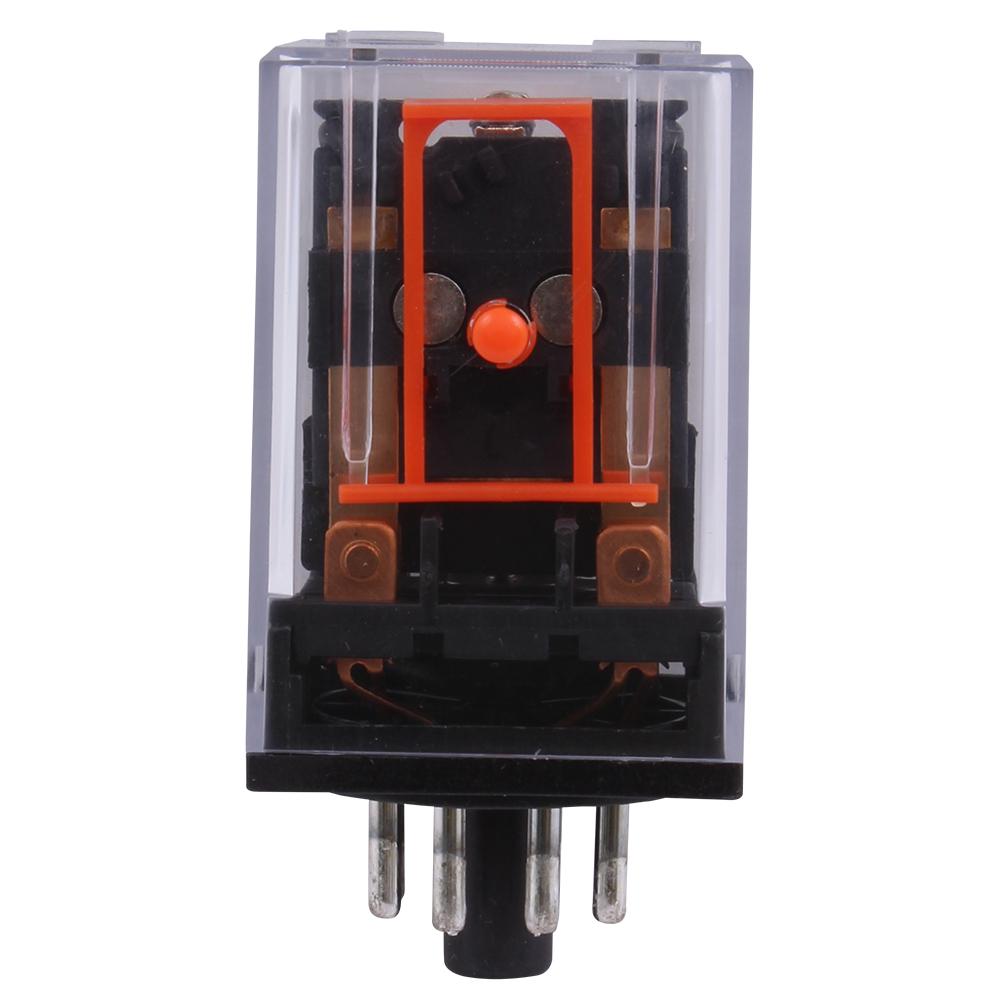 GE Industrial Solutions 420KPM022C DPDT 24 Volt 10 Amp Socket Mount Plug-In Control Relay