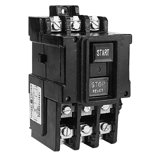 GE Industrial Solutions CR1062S3AAT1000 600 Volt 10 Hp 3-Phase Size M1 Toggle NEMA Open Manual Motor Starter