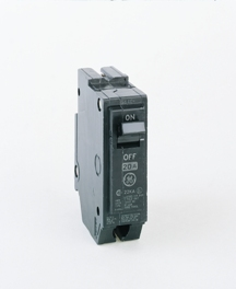 GE Industrial Solutions THQL1145 1-Pole 45 Amp 120/240 Volt 10 Kaic 1 Inch Plug-In Molded Case Circuit Breaker