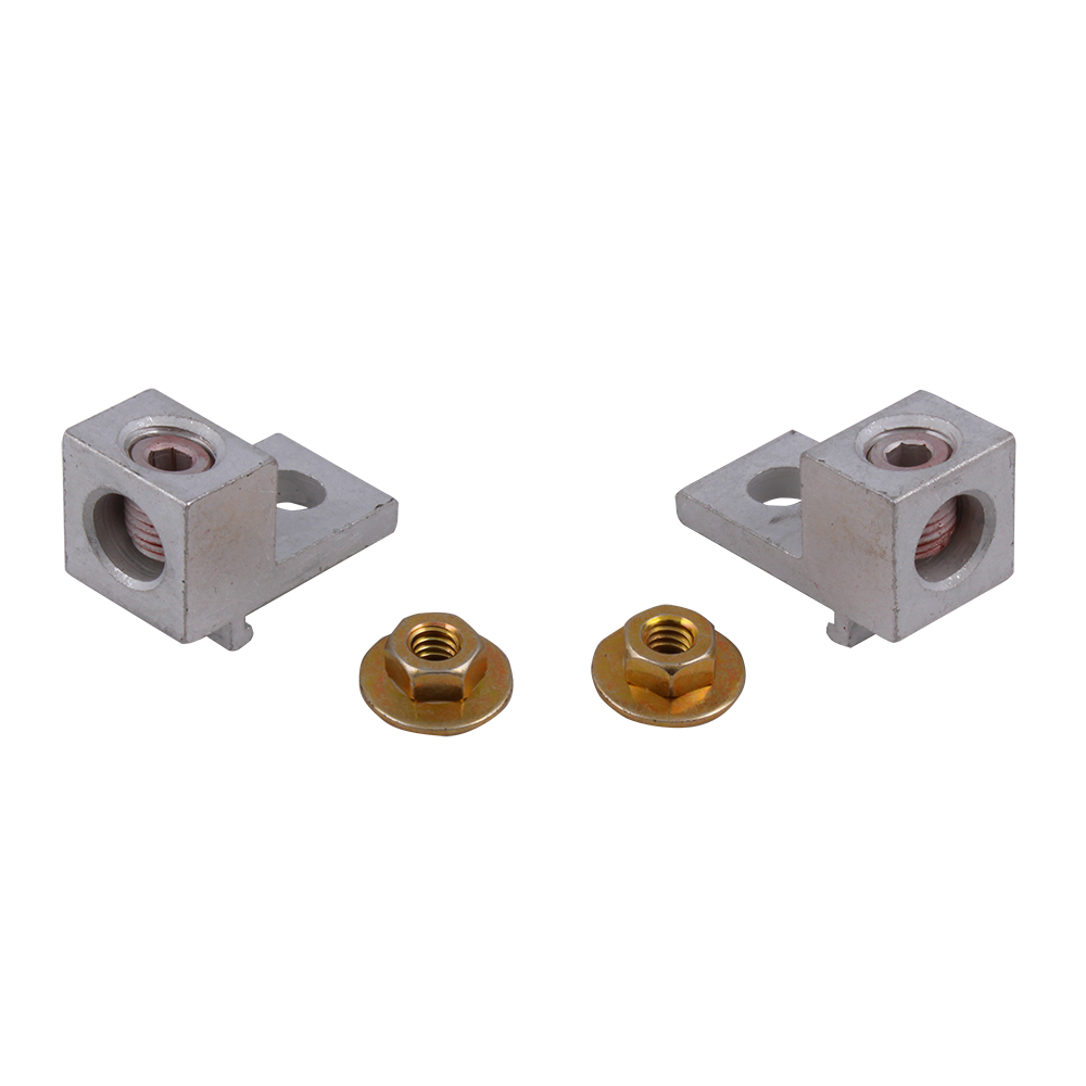 GEG TMLK125 PM GOLD 125A MAIN LUG KI 137A;GE PowerMark Gold™ TMLK125 Main Lug Kit, 6 to 2/0 AWG Cu/Al, For Use With Loadcenter and Enclosure