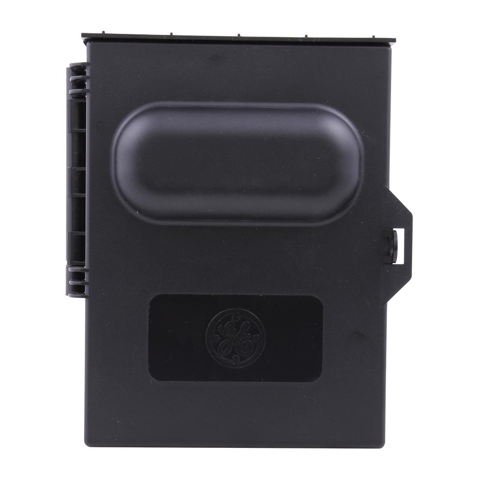 GE Industrial Solutions TPN60R1 60 Amp 240 Volt NEMA 3R Plastic Pullout Non-Fusible Disconnect Switch Outdoor Enclosure