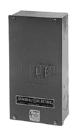 GE Industrial Solutions SG600S 600 Amp NEMA 1 Surface Mount Circuit Breaker Enclosure