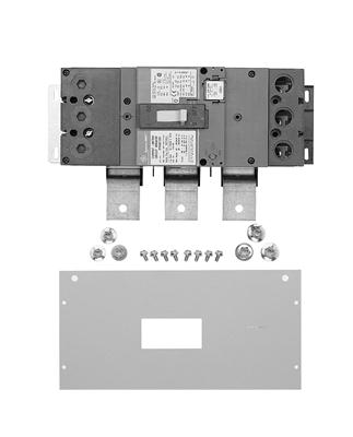 GE,MB334WB,General Electric MB334WB Breaker Kit, 480/277 VAC, 400 AMP, 3 PH Phase, Short Circuit Rating: 25 KAMP for SGHA, Includes: Breaker, Mounting Kit And Load-Side Lugs