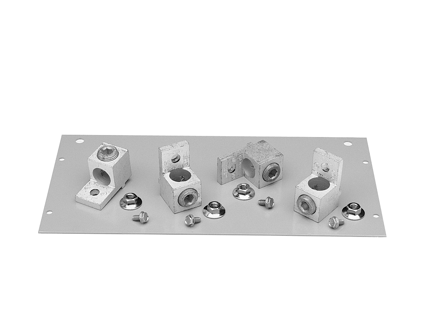 GE,MLA41,General Electric MLA41 Pressure Lug Kit, 400 AMP, 1 - 600 MCM/(2) 1/0 - 250 MCM Cable