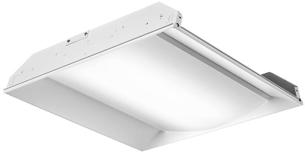 2FSL2-33L-EZ1-LP840 LITHONIA FS SERIES RECESSED LED, 2X2, NOMINAL 3300 LUMENS, ELDOLED DIMMING 1PCT, 80+ CRI, 4000K (CI# 224NUR)