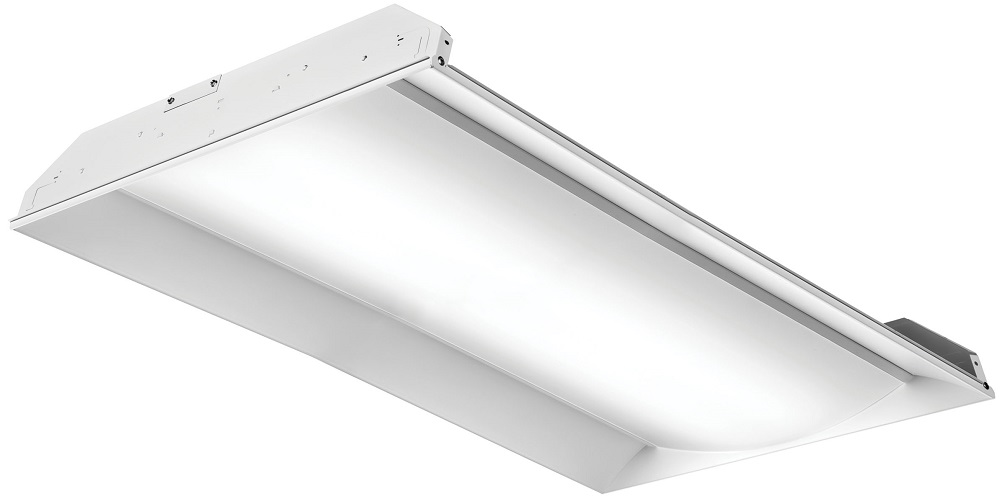 2FSL4-40L-EZ1-LP840 LITHONIA FS SERIES RECESSED LED, 2X4, NOMINAL 4000 LUMENS, ELDOLED DIMMING 1PCT, 80+ CRI, 4000K (CI# 224NUL)