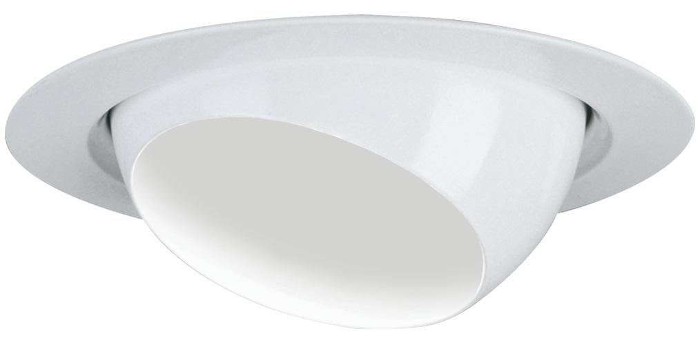 LIT3E1R6 3IN WHITE EYEBALL VERTICAL REFLECTOR 3E1R6, LITHONIA