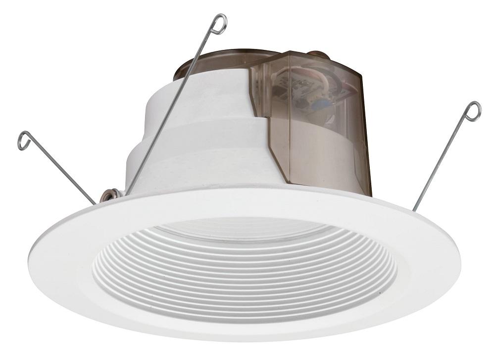 Lithonia Lighting 6BPMW LED M6 6 Inch 12.7 W 120 Volt 3000 K 83 CRI Matte White Baffle LED Module