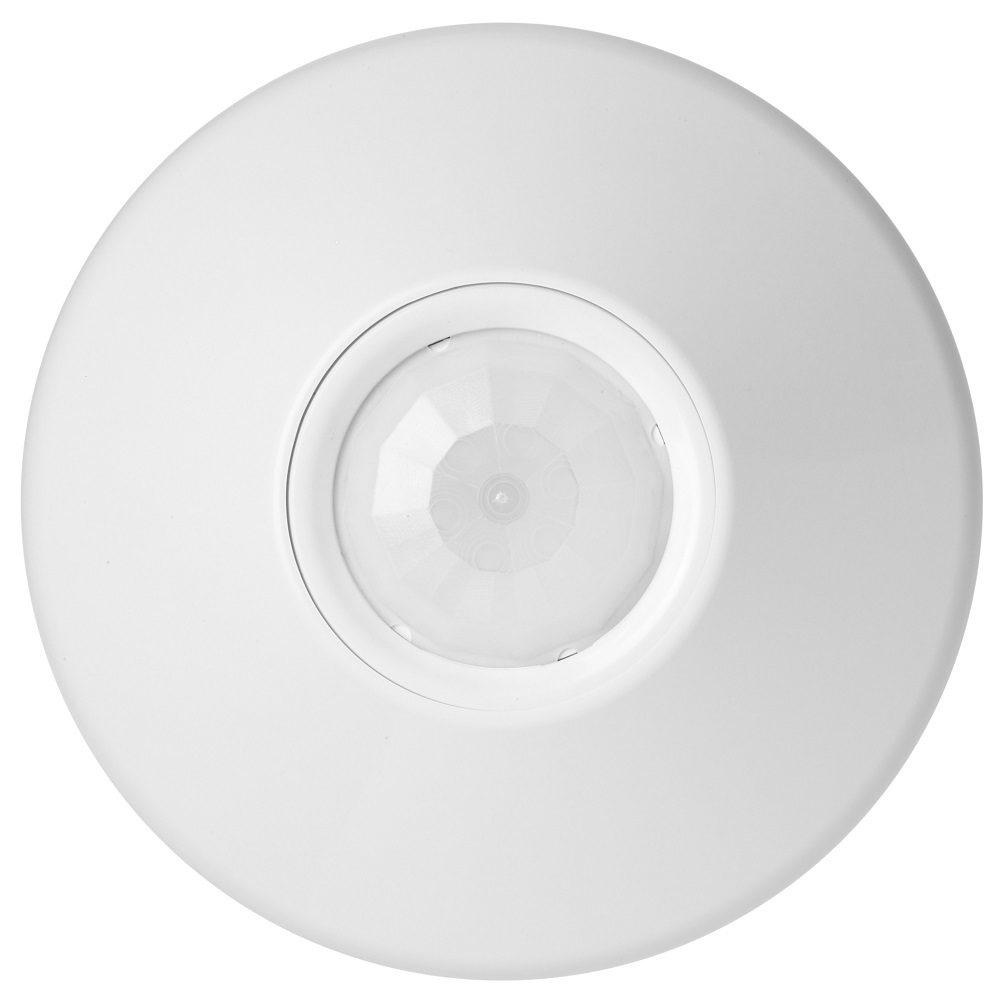 SES CM-PDT-9 PDT CEILING MOTION SENSOR LOW VOLTAGE 12-24VAC/VDC WHITE /184CGX