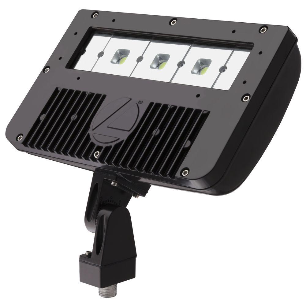 LITH DSXF2-LED-3-50K-M2 D-SERIES 54W 5000K LED FLOOD FIXTURE, 120-277V, DARK BRONZE