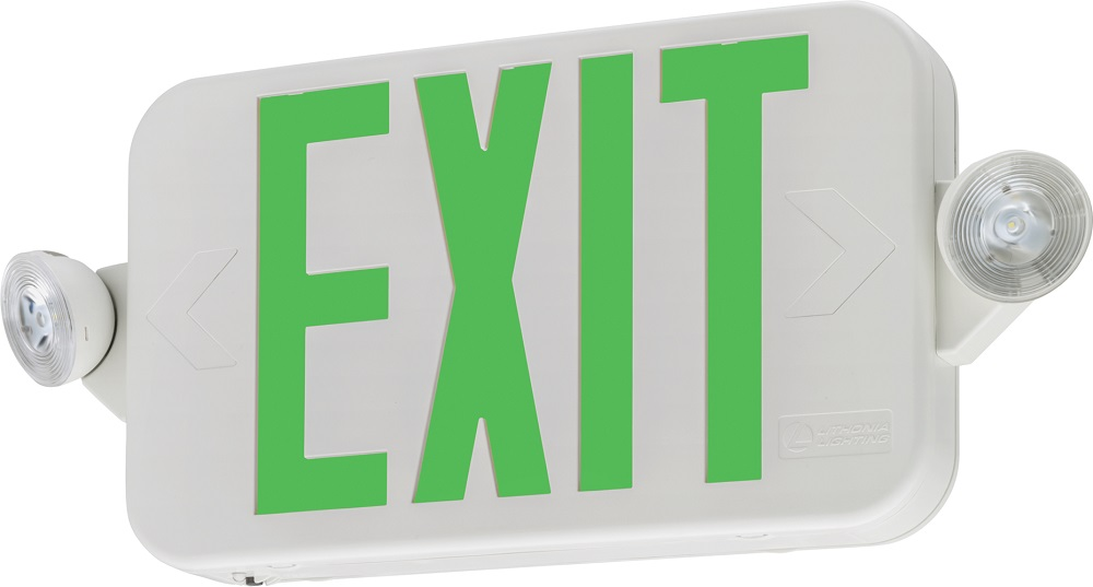 ECCGM6 LITHONIA EMERGENCY EXIT SIGN (CI# 263X2V)
