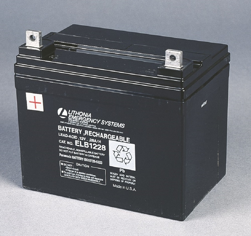ELB-1228 LITHONIA REPLACEMENT BATTERY (CI# 241333)