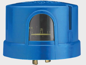 Dark To Light,DE124 1.5 TJBK J50,Lithonia Lighting® DE Electronic Locking-Type Photo Control Sensor, 105 to 530 VAC, 1000 W Tungsten, 1800 VA Ballast