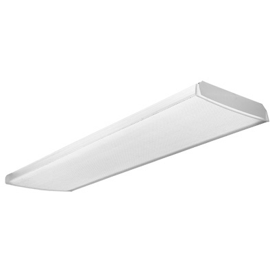 Lithonia Lighting,TLB 2 32 MVOLT 1/4 GEB10IS,Tandem, Low Profile Wraparound, 8', Two lamps, 32W T8 (48