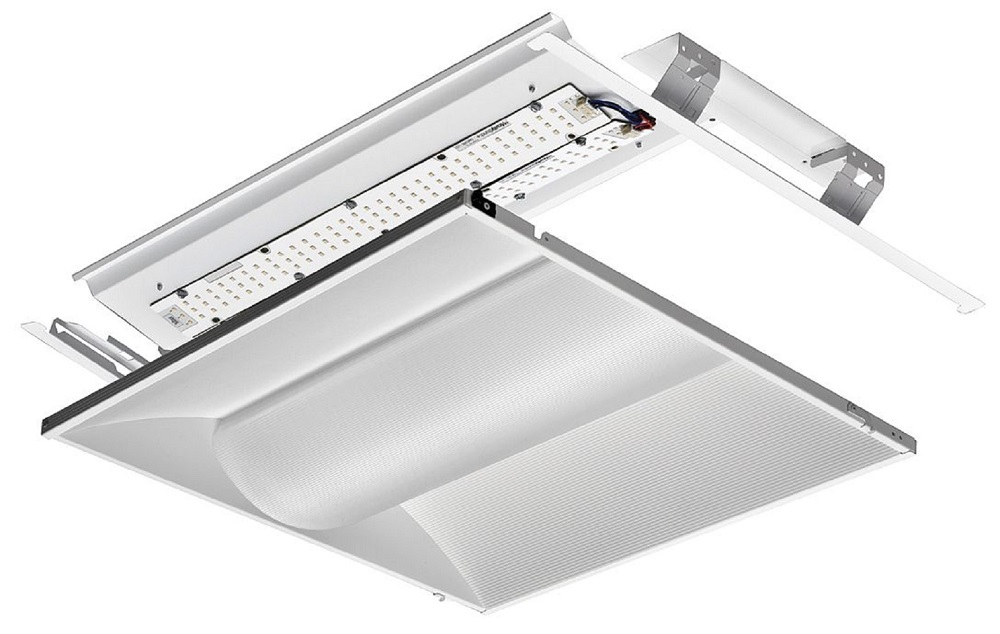 Lithonia Lighting,2VTL2RT 20L ADP EZ1 LP840,Lithonia Lighting® 2VTL2 Rectangular Traditional Volumetric Indoor Troffer, Static LED Lamp, 20 W Fixture