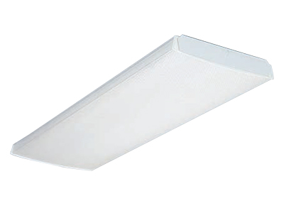 Lithonia Lighting,LB232 MV,Lithonia Lighting® LB Low Profile Indoor Wraparound, 2 T8 Fluorescent Lamp, 32 W Fixture, 120/277 VAC