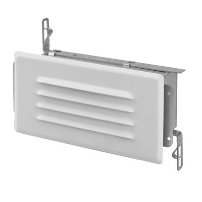 Lithonia Lighting,SL1,Lithonia Lighting® SL1 Square Step Light, 1 Incandescent Lamp, 120 VAC, Unpainted Housing
