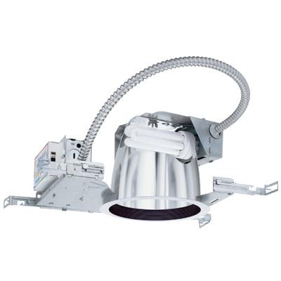 Lithonia Lighting LF6N 2/26DTT MVOLT 6 Inch 2-Lamp 26 W 120 to 277 Volt Galvanized Steel Compact Fluorescent Downlight Fixture