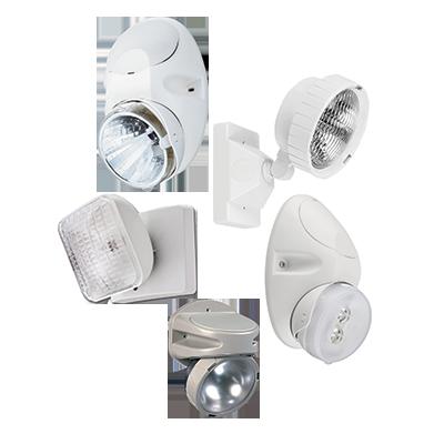 Lithonia Lighting,ELA N1212,Lithonia Lighting® ELA Remote Head Unit, 12 W PAR36 Incandescent Lamp, 120/277 VAC, 1 Head