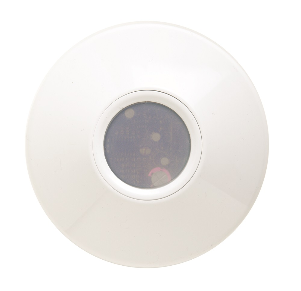 Sensor Switch,CM ADC DZ,Lithonia Lighting® CM ADC Automatic Dimming Control Photocell Sensor, 12 to 24 VAC/VDC, Ceiling Mount