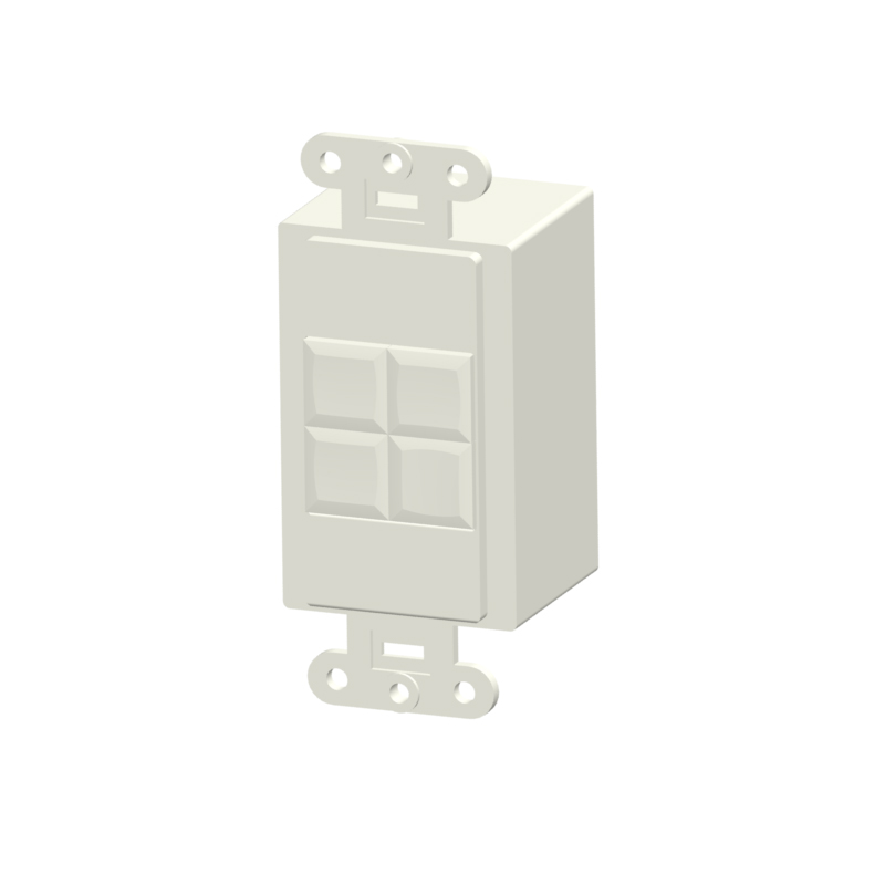 Synergy LVPS-2BT-WH Synergy User Interfaces Dry Contact Switches Traditional Lighting Control
