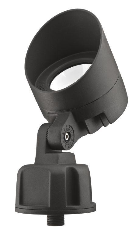 Lithonia Lighting OLBF 8 30K DDB M6 120/277 Volt 3000 K Dark Bronze Floodlight