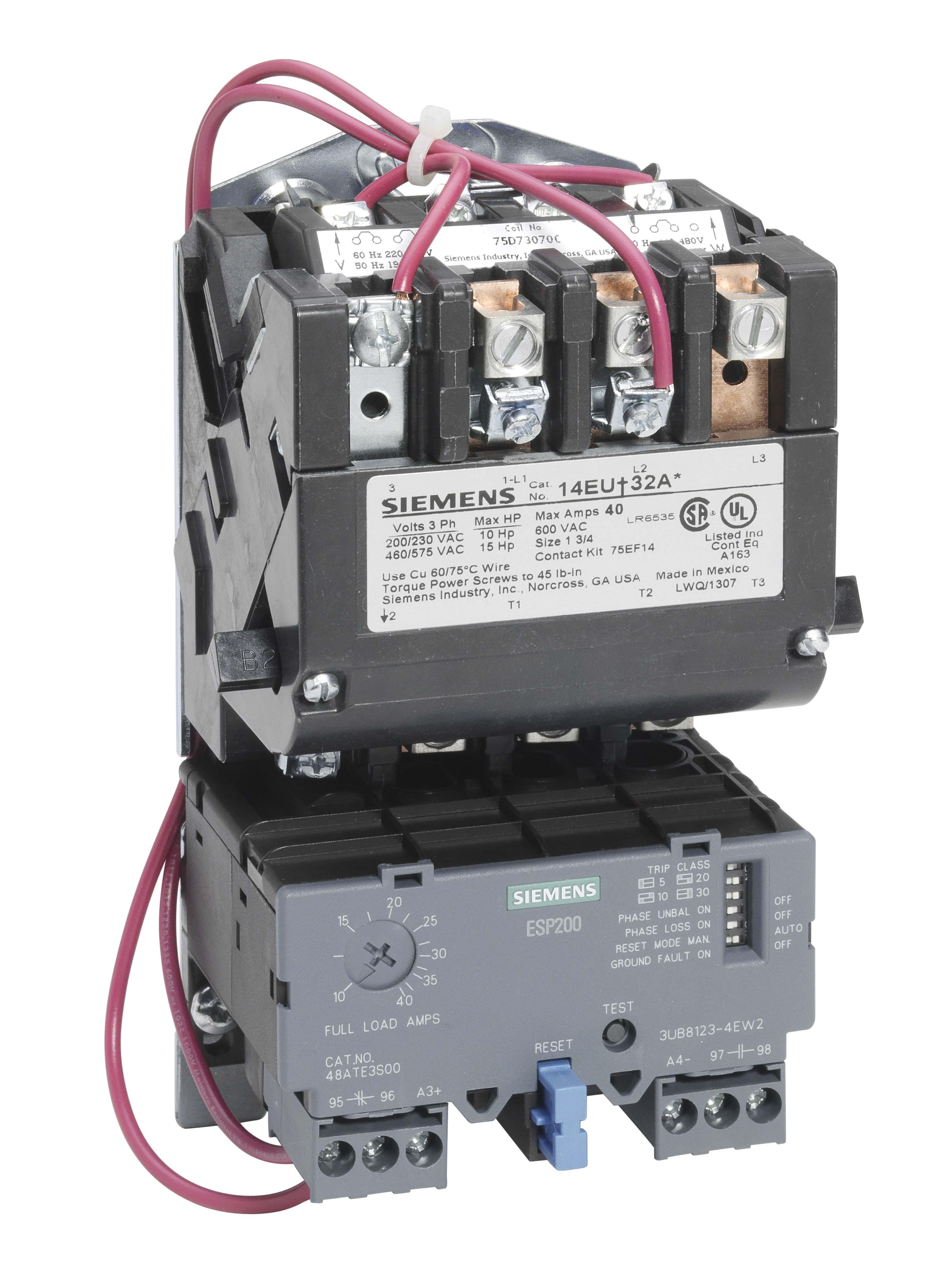 Siemens 14eue32aa standard electric supply for Siemens motor starter catalog pdf