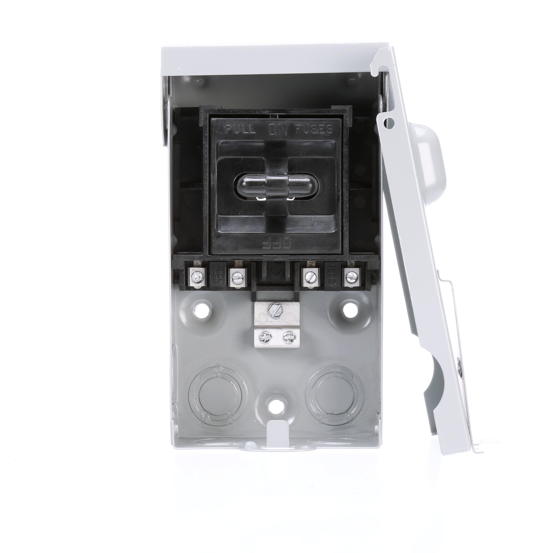 Siemens,WF2060,Siemens WF2060 Fuse Kit, Air Conditioner Disconnect, 240 VAC, Size: 5.144 IN Width X 3.425 IN Depth X 9.09 IN Height, Enclosure: NEMA 3R