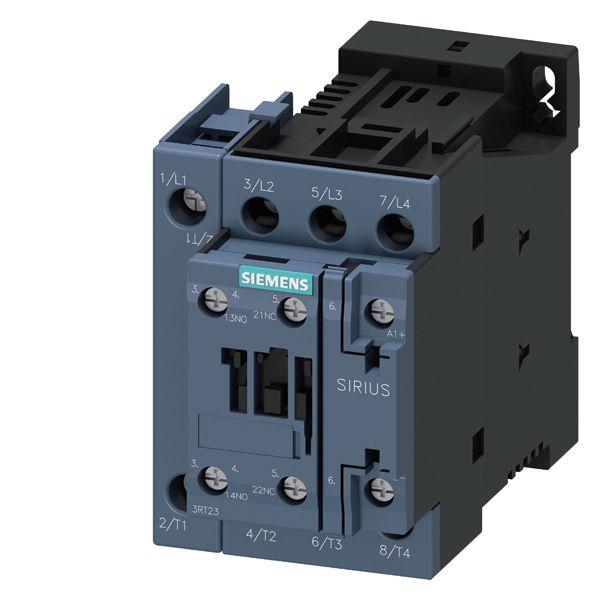 CONTACTOR RES S0 42A 220VDC 5NO/1NC SCRW