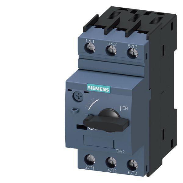 SIRIUS 3RV24110CA10 Motor Protection Circuit Breaker, 690 VAC, 0.18 to 0.25 A, 100 kA Interrupt, 3 Poles, Magnetic Trip