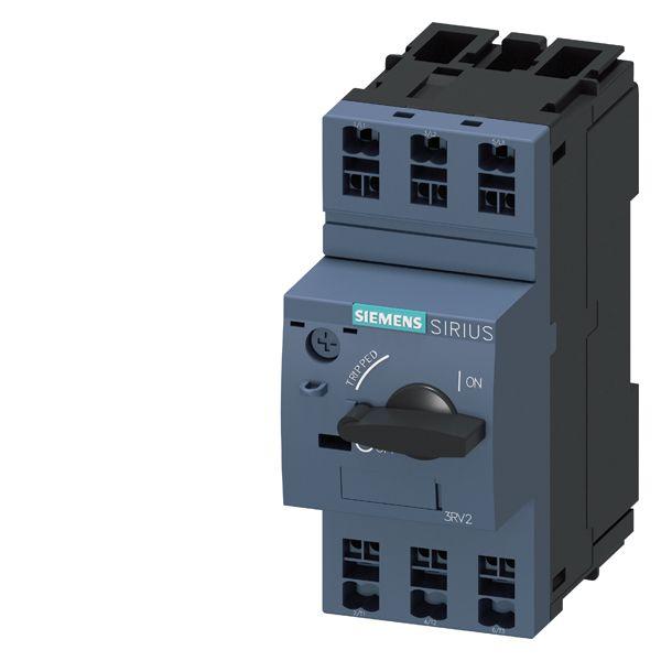 SIRIUS 3RV24110CA20 Motor Protection Circuit Breaker, 690 VAC, 0.18 to 0.25 A, 100 kA Interrupt, 3 Poles, Magnetic Trip