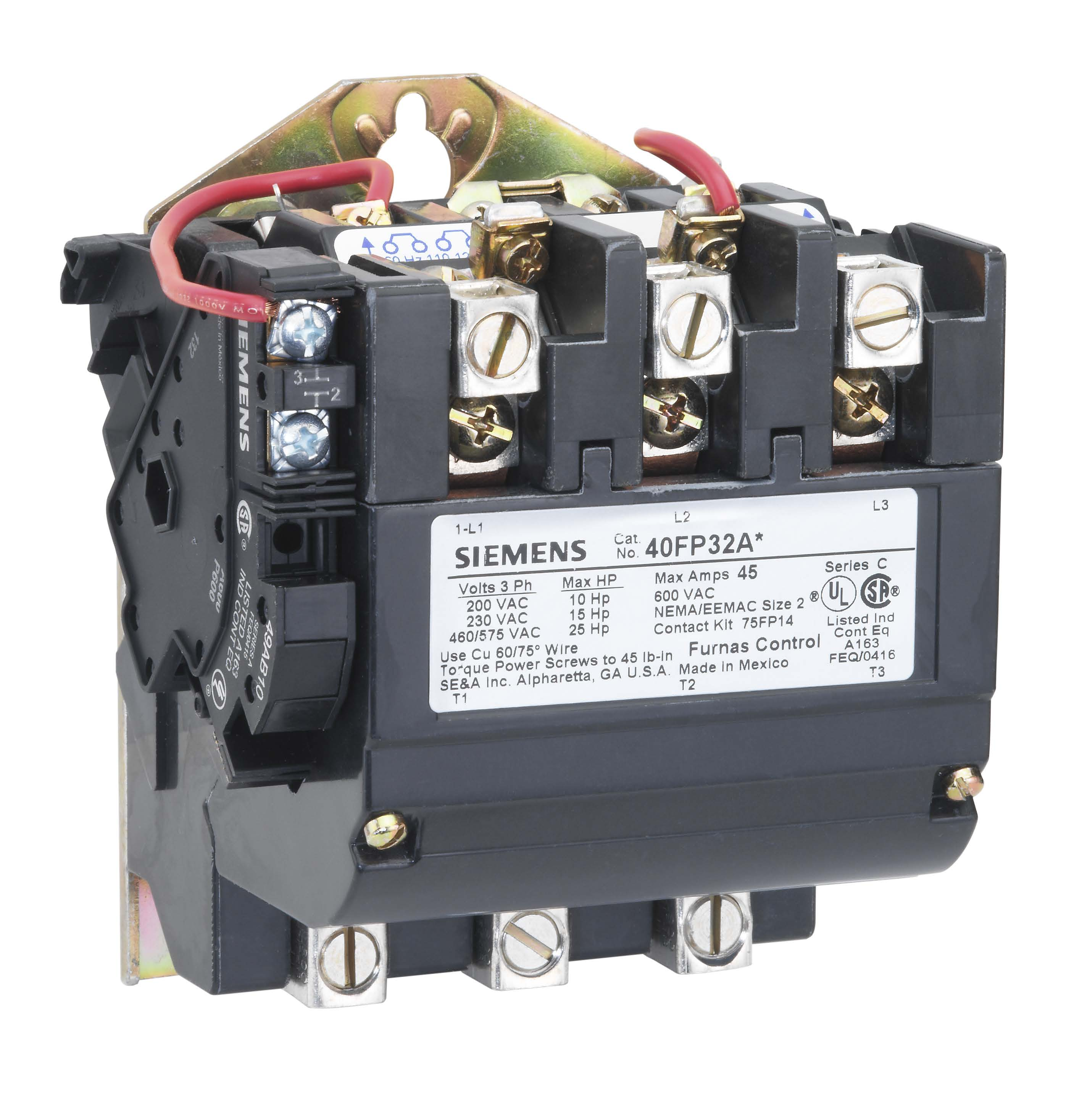Siemens Contactors Reversing Free Download Furnas Contactor Wiring Diagram Controls 40fp32aj North Coast Electric At