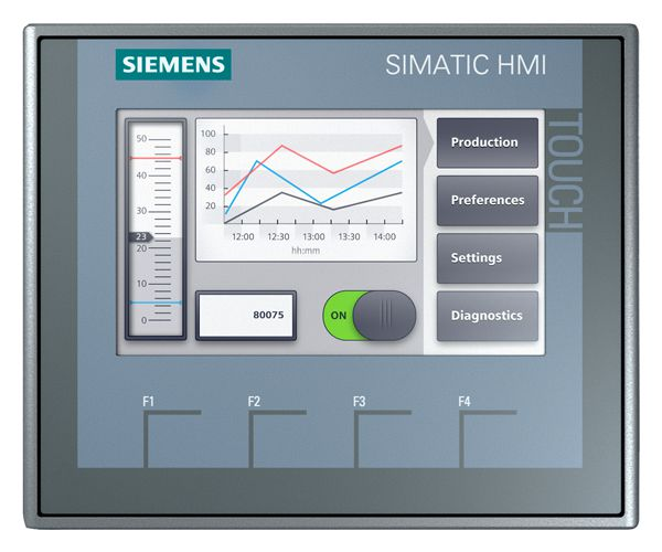 SIE 6AV21232DB030AX0 SIE SIMATIC HMI KTP400 BASIC PROFINET COLOR 4