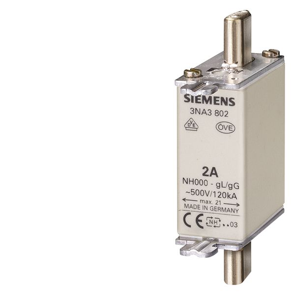 SIEMENS 3NA3814 FUSE LINK LV HRC 35A 500VAC