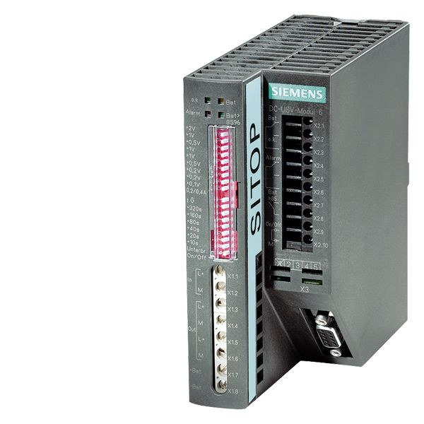 Siemens,6EP19312EC21,Siemens 6EP Sitop Dc Ups Module With Battery, 22 to 29 VDC, 15 A, 360 W