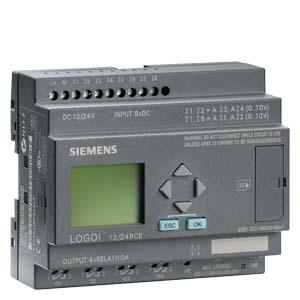 Siemens Controls,6ED10521MD000BA,Siemens 6ED10521MD000BA Programmable Logic Module, 400 Blocks