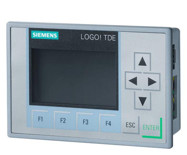 Siemens 6ED1055-4MH00-0BA1 Display Module, 12/24 VDC, FSTN Display