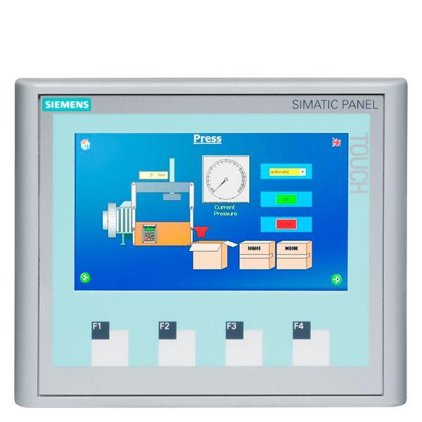 SIEMENS 6AV66470AK113AX0 KTP400 Basic Color PN