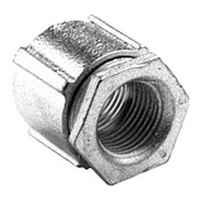 "Bridgeport 1129-AL 3-1/2"" 3pc Conduit Coupling, Aluminum"