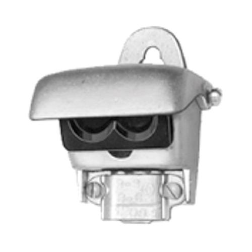 BRI1221 1221 ENTRANCE CAP, OVAL SERVICE, ENTRANCE CABLE, ALUMINUM, CABLE SIZE 3-#3/0, #4/0