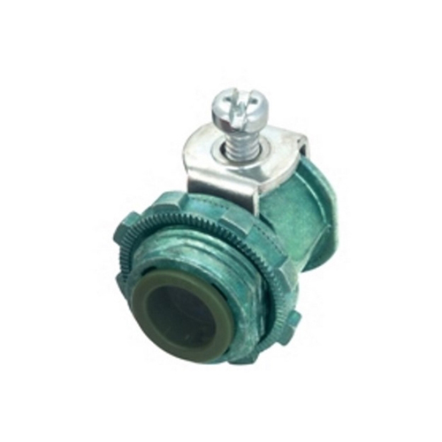 "3/8"" GREEN INS HCF CABLE CONN"