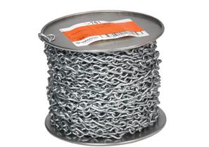 Bridgeport 701 12ga Jack Chain, Steel, 100Ft /Spool
