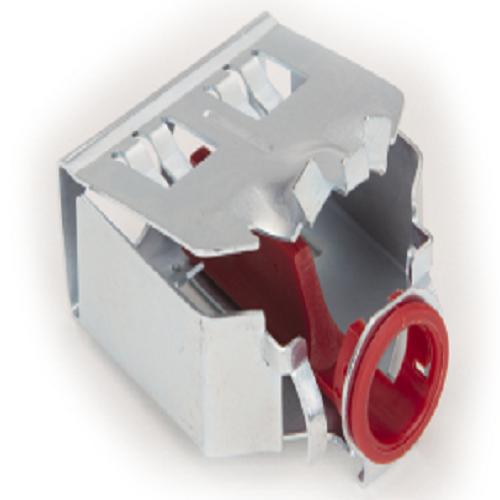 "Bridgeport AMC-52QI 3/8"" EZ Lock® Duplex Connector, Quick Install AC/MC/MCI-A/HCF & FMC"