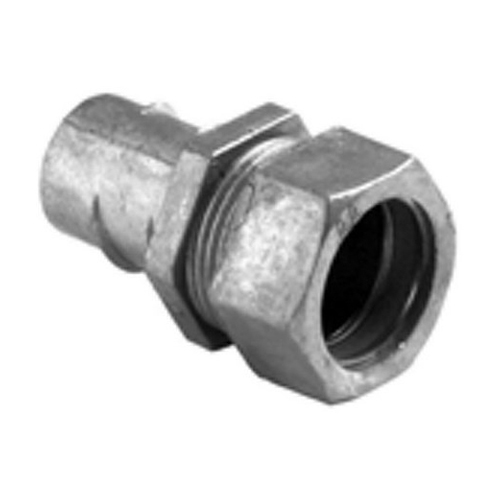 BPT 581-DC 1/2IN COMBO COUPLING FLEX TO EMT SCREW IN FLEX TO COMPRESSION CONNECTOR COMBO CPLG 1/2 TO 1/2 DIE CAST050 TO 050