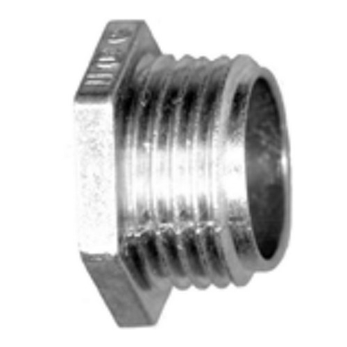 Bridgeport 1102-DCI Zinc Die Cast Insulated Conduit Nipple; 1/2 In