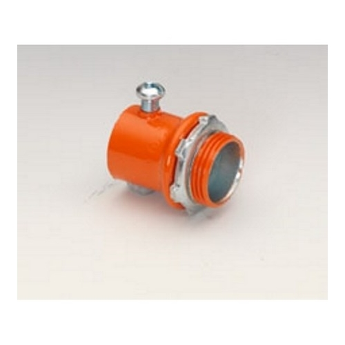 "3/4"" ORANGE S.S. EMT CONNECTOR"