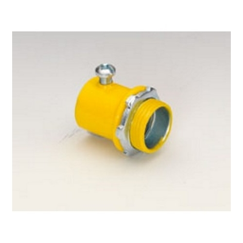 "3/4"" YELLOW S.S. EMT CONNECTOR"