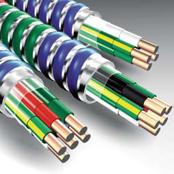 AFC Cable Systems,2106S42-80,12-3MC LITE IG BK RD WE GN GN/YW 250COIL