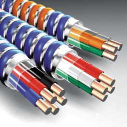 MC-12/2-BN/GY 250' WI12/2MCBNGY 1704B42T01 BLUE AFC CABLE .495