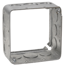 Eaton Crouse-Hinds Series,TP833,Crouse-Hinds Commercial Products® TP833 Extension Ring Square Box Plaster/Mud Ring, Steel